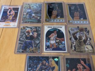 John Stockton/Karl Malone Card lot