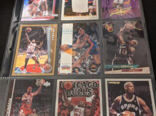 Dennis Rodman Basketball Cards
