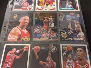 Scottie Pippen Basketball Cards