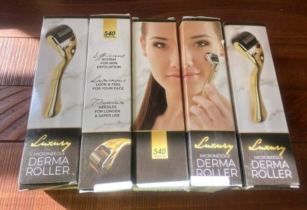 Microneedle Derma Roller by Basic Concepts – Titanium 540 needles – $7 (chandler)