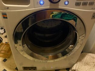 LG Washer, SAMSUNG DRYER (NEW MODELS) – $550