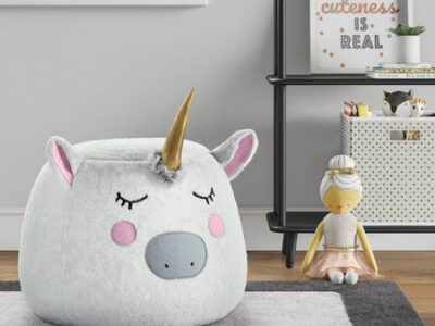 New In Box!! Unicorn Pouf / Bean Bag – $25
