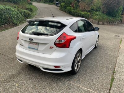 013 White Ford Focus ST (ST3) – Turbo – Low Mileage – $13,500