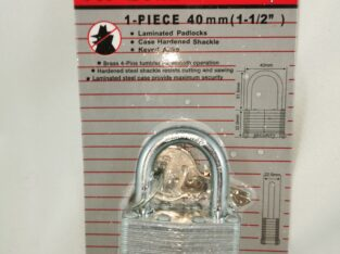 Pit Bull AJ Tools CHIPL40 1.5 Inch (40 mm) Padlock (Single Item)